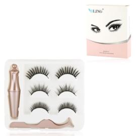 Rzęsy magnetyczne z eyelinerem A - MUP305