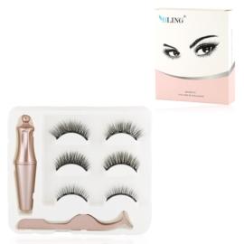 Rzęsy magnetyczne z eyelinerem B - MUP306
