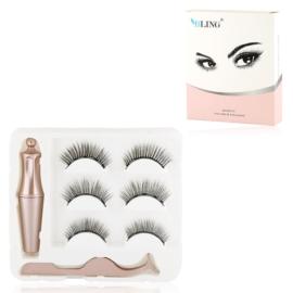 Rzęsy magnetyczne z eyelinerem C - MUP307