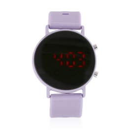Zegarek damski silikonowy LED dZ2702