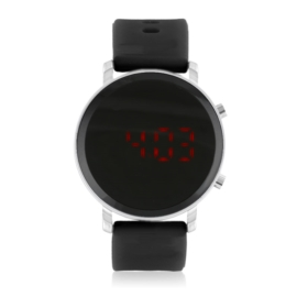 Zegarek damski silikonowy LED dZ2704