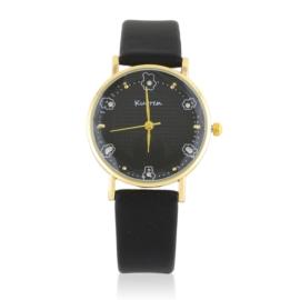 Zegarek damski na czarnym pasku Z2708