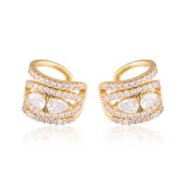 Nausznice z kryształkami Xuping EAP18607