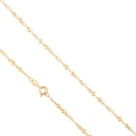 Łańcuszek z kuleczkami 50cm Xuping LAP2692