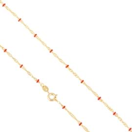 Łańcuszek z koralikami 45cm Xuping LAP2694
