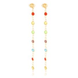 Kolczyki wiszące z kryształkami Xuping EAP18633