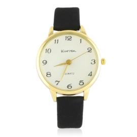 Zegarek damski na czarnym pasku Z2709