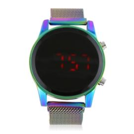 Zegarek damski LED magnetyczna bransoleta Z2711