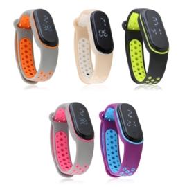 Zegarki LED silikonowe 10szt/op Z2718