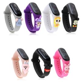 Zegarki LED silikonowe dziecięce 20szt/op Z2719
