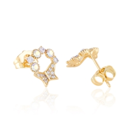 Kolczyki sztyfty z kryształkami Xuping EAP18771