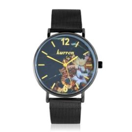 Zegarek damski na bransolecie -flowers- Z2725