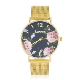 Zegarek damski na bransolecie -flowers- Z2726