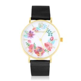 Zegarek damski na bransolecie -flowers- Z2729