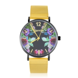 Zegarek damski na bransolecie -flowers- Z2734