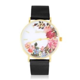 Zegarek damski na bransolecie -flowers- Z2735