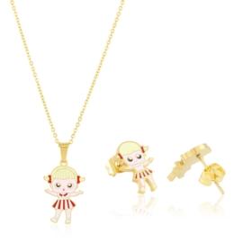 Komplet biżuterii dziecięcej Xuping PK649