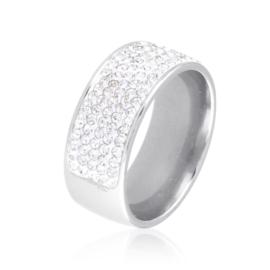 Obrączka z kryształkami Xuping PP3524