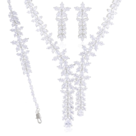 Komplet biżuterii ślubnej Xuping - SKO121