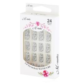 Tipsy paznokcie sztuczne 24szt - PIL168