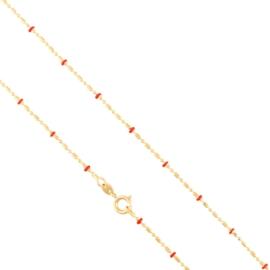 Łańcuszek z koralikami 45cm Xuping LAP2705