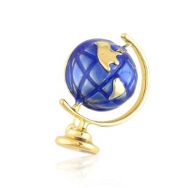 Broszka codzienna globus BRP74