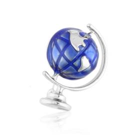 Broszka codzienna globus BRP75