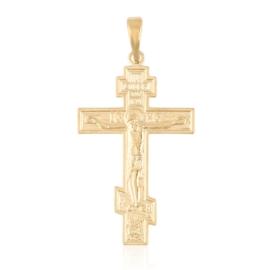 Przywieszka krzyżyk prawosławny Xuping PRZ3076