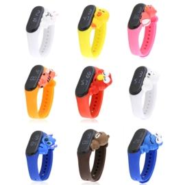 Zegarki LED silikonowe dziecięce mix10szt/op Z2752