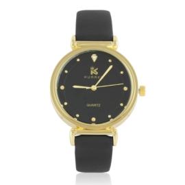 Zegarki damski na pasku czarny Z2761