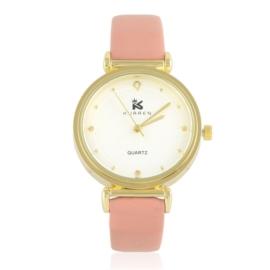 Zegarki damski na pasku różowy Z2764