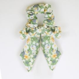 Gumki owijki scrunchie floral 12szt/op OG1374