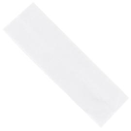 Opaska klasyczna lycra 5cm - biała OPS1262