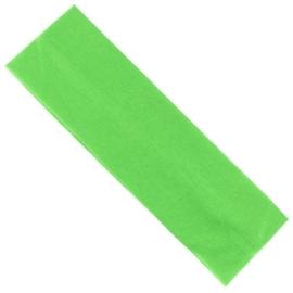 Opaska klasyczna lycra 5cm - zielona OPS1269