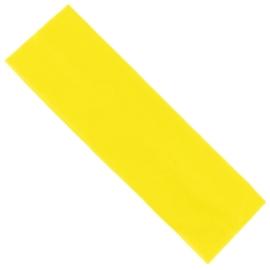 Opaska klasyczna lycra 5cm - żółta OPS1271