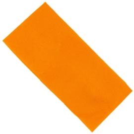 Opaska klasyczna lycra 7cm - pomarańczowa OPS1273