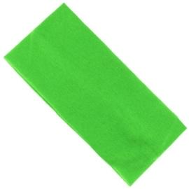 Opaska klasyczna lycra 7cm - zielona OPS1275