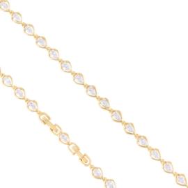 Bransoletka codzienna z kryształkami Xuping BP9775