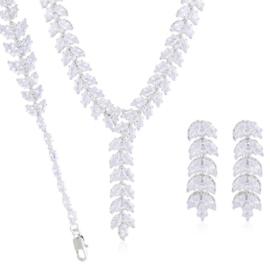 Komplet biżuterii ślubnej Xuping - SKO124