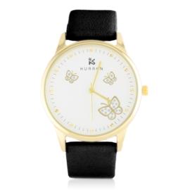 Zegarek damski na pasku czarny Z2783