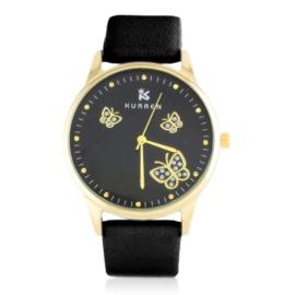 Zegarek damski na pasku czarny Z2784