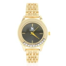 Zegarek damski na bransolecie z kryształkami Z2789