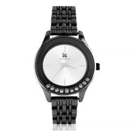 Zegarek damski na bransolecie z kryształkami Z2791