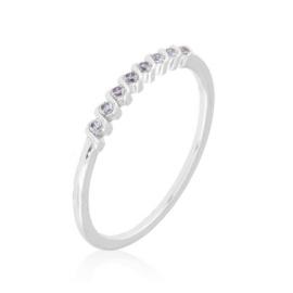 Pierścionek codzienny z kryształkami Xuping PP3635