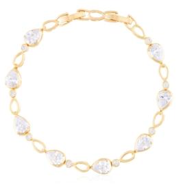 Bransoletka codzienna z kryształkami Xuping BP9839