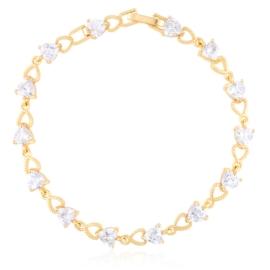 Bransoletka codzienna z kryształkami Xuping BP9845