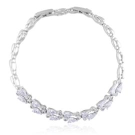 Bransoletka z kryształkami Xuping BP9851