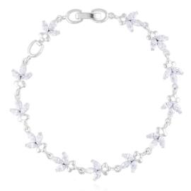 Bransoletka z kryształkami Xuping BP9852