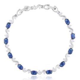 Bransoletka z kryształkami Xuping BP9855
