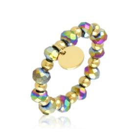 Pierścionek na gumce z koralików Aisadi PP3644